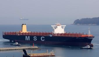 MSC poupa 26 milhões em cada navio de 22000 TEU