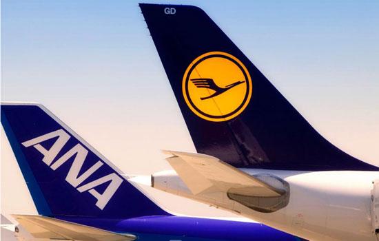Lufthansa-ANA