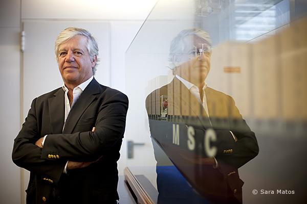 Carlos Vasconcelos, administrador da MSC Portugal.
