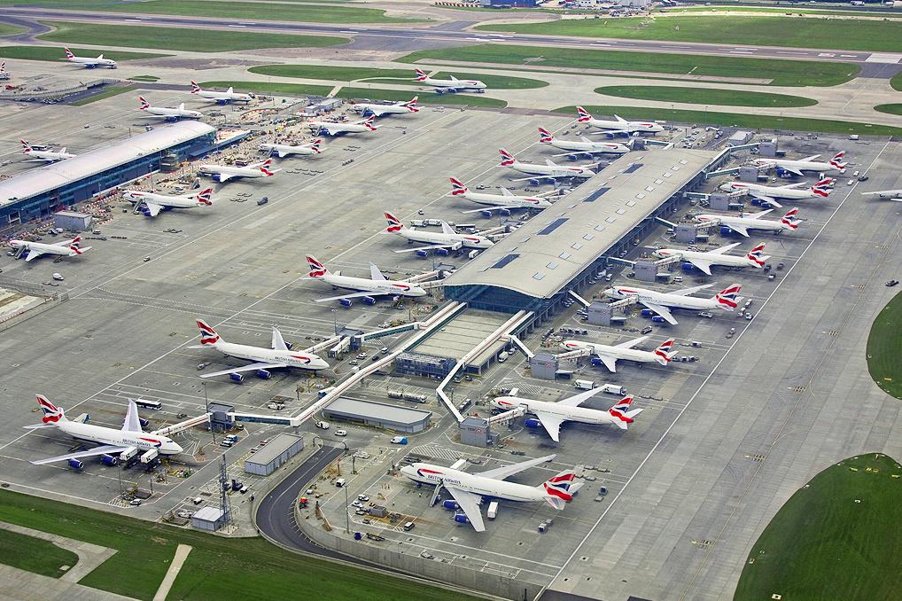 Londen-Heathrow-Airport