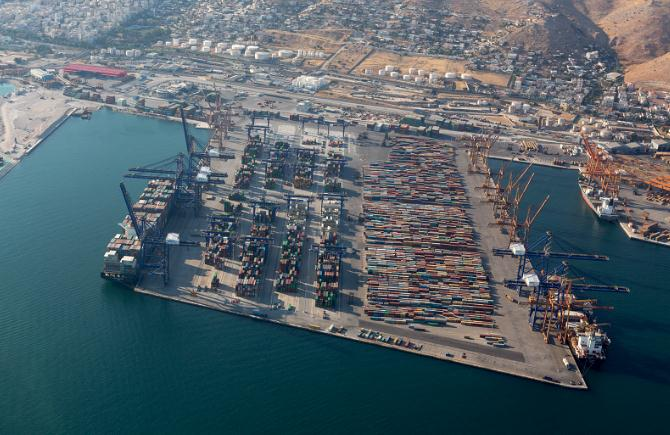 Piraeus-Container-Terminal - Cosco