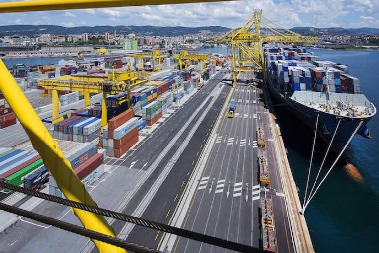 Trieste - Terminal de Contentores da MSC