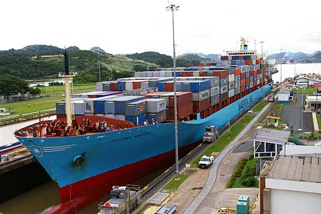Maersk - Canal do Panamá
