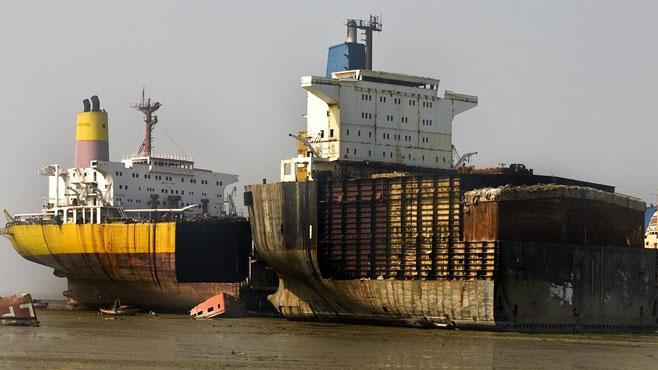 Navios desmantelados