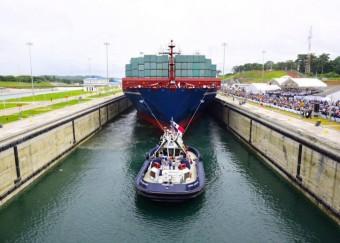 Tráfego aumenta no Canal do Panamá e desce no Suez