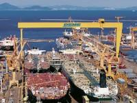 Encomendas de navios abaixo dos 200 milhões de DWT