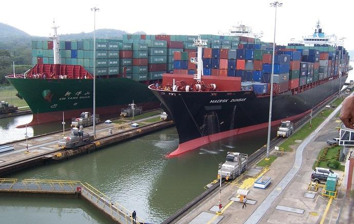 Canal do Panamá - Panamax