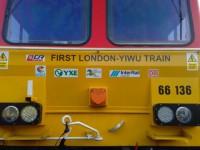 Primeiro comboio de mercadorias UK-China partiu de Londres