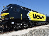 Medway estreia a primeira locomotiva Euro4000