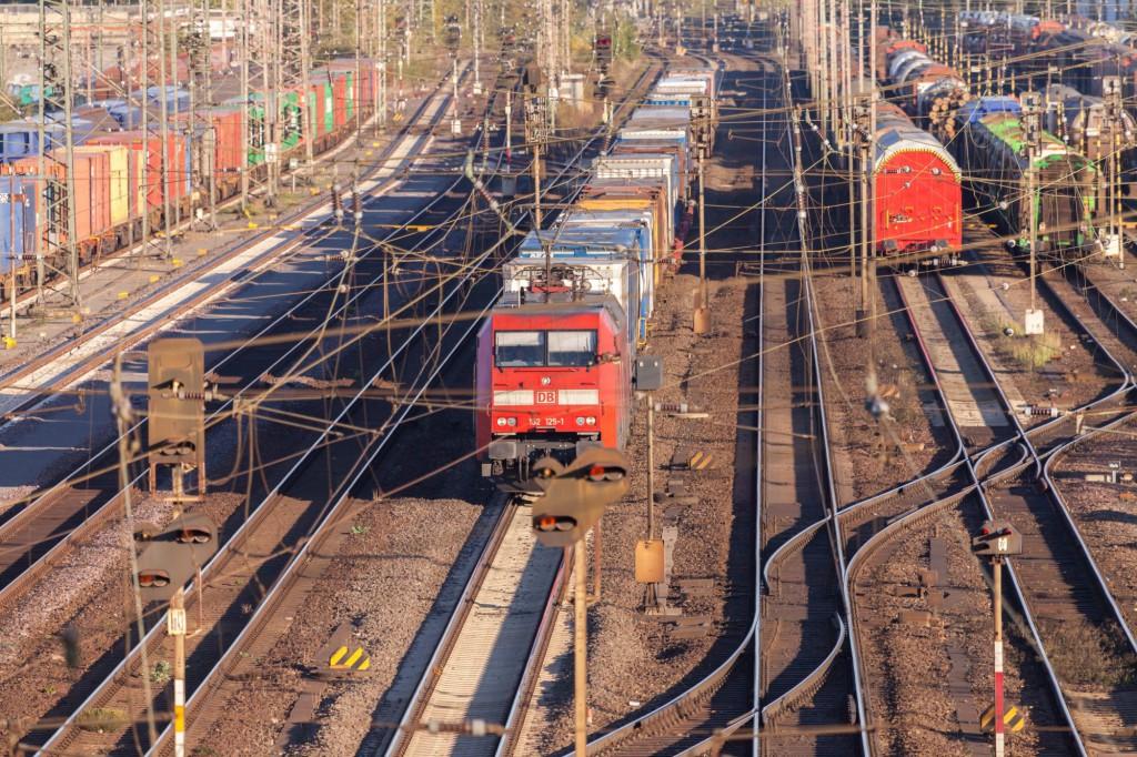 Alemanha - transporte ferroviário - mercadorias
