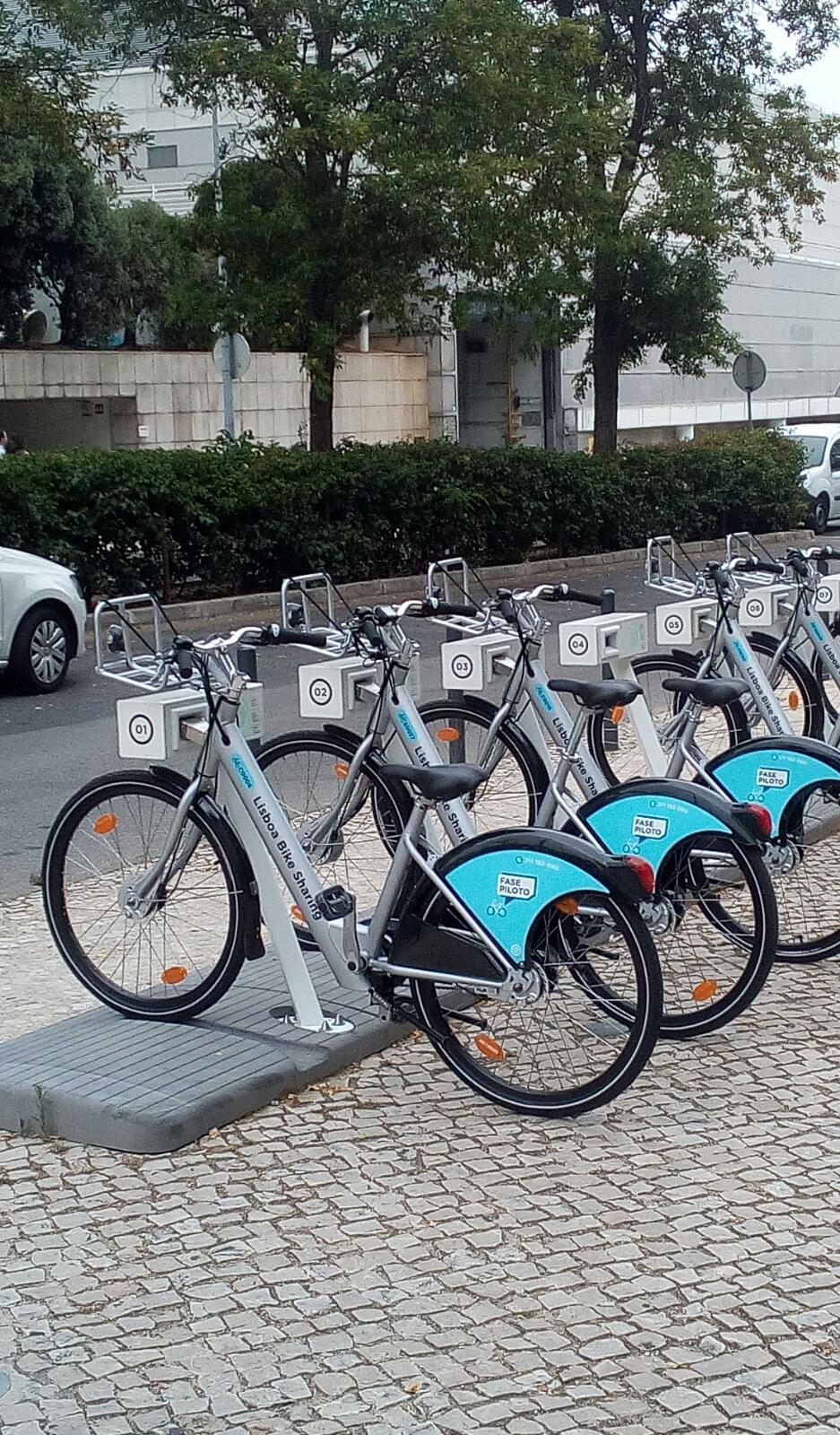 Bike sharing Lisboa