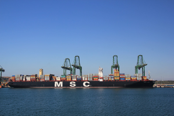 MSC - Porto de Sines - Terminal XXI