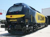 Medway ataca Espanha com as locomotivas interoperáveis