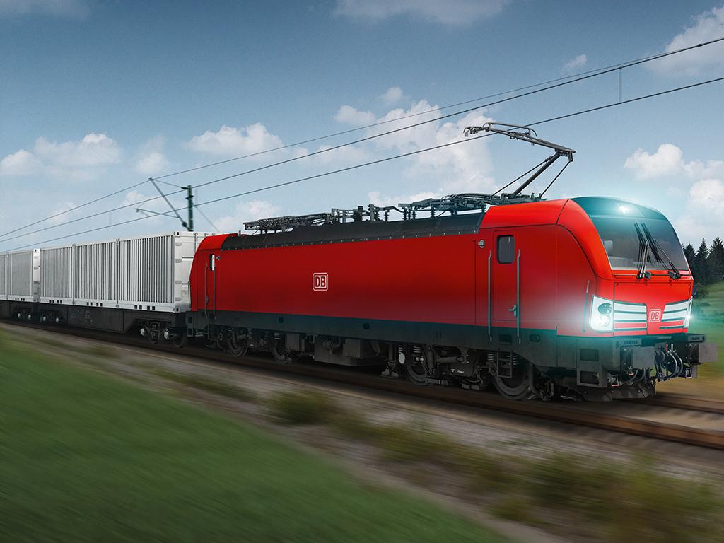 Siemens schließt Rahmenvertrag über 100 Lokomotiven mit der Deutschen Bahn / Siemens signs framework contract for 100 locomotives with Deutsche Bahn