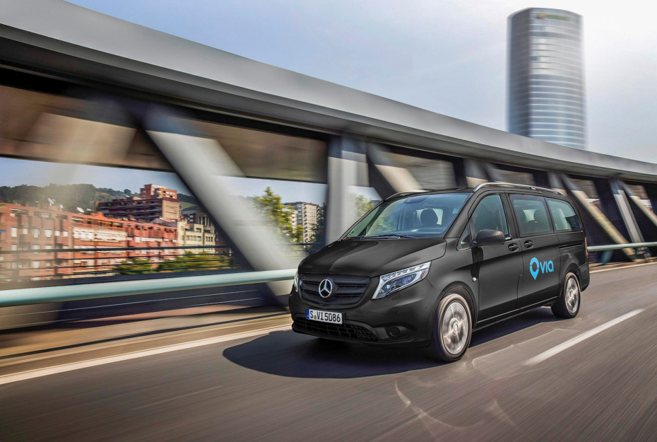 Mercedes Vans_ride sharing