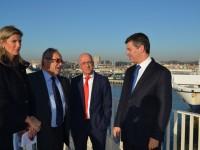 Ministro da Economia visitou Leixões