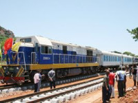 Modernização da linha de Moçâmedes formalmente concluída