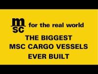 MSC Oscar é o maior porta-contentores do mundo