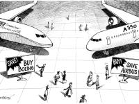 Airbus ganha em encomendas, Boeing triunfa nas entregas