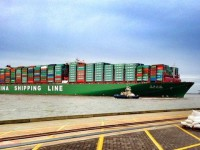 Frota de porta-contentores terá crescimento recorde