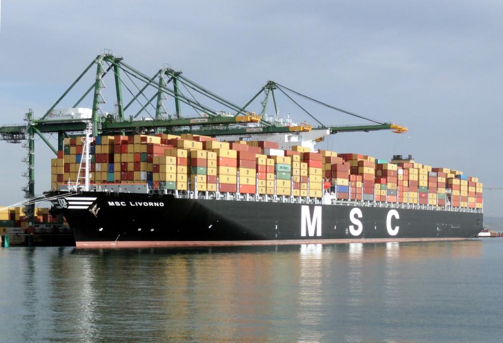 MSC cobrará sobretaxa de enxofre a partir de Janeiro