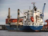 Transinsular contrata Navis para optimizar navios