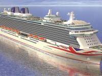 Brittania é o novo navio-almirante da P&O Cruises