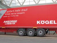Kögel propõe semi-reboques de 17,8 metros como alternativa aos mega-camiões