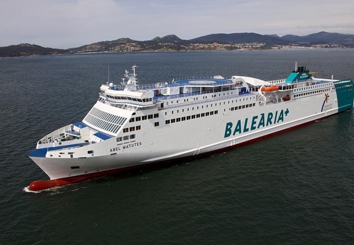 AEM Gijon-Nantes será operada com um navio a GNL