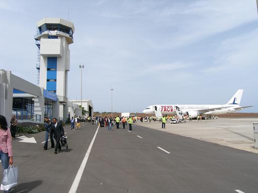 Cabo Verde - Aeroporto de Praia