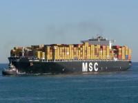 MSC Lisbon com recorde de 5873 TEU no Terminal XXI