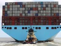 Triple-E da Maersk engrossa frota de porta-contentores inactiva