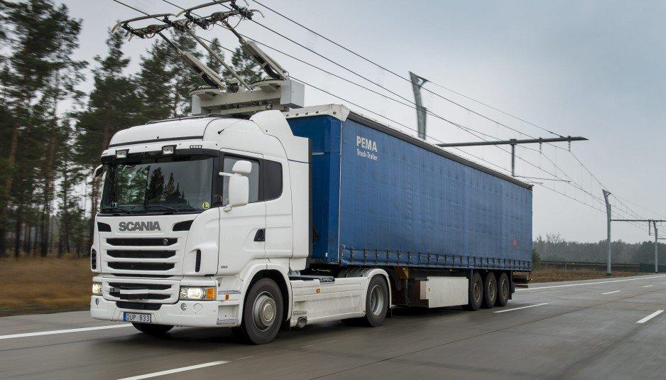 Scania - Camião-trólei