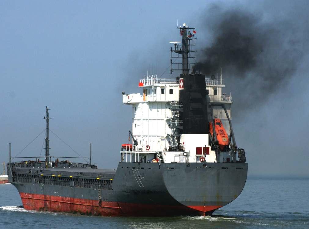 Navios poluentes
