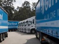 Garland cresceu 6% no ano da internacionalização
