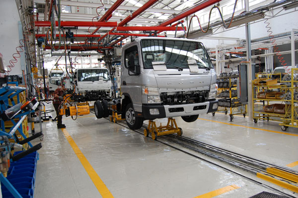 Produção nacional de pesados concentra-se no Tramagal