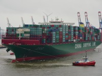CSCL prestes a encomendar 11 navios de 20 000 TEU