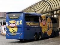 Low cost invade viagens internacionais de autocarro
