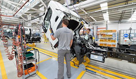 Produção de veículos comerciais está em máximos da década