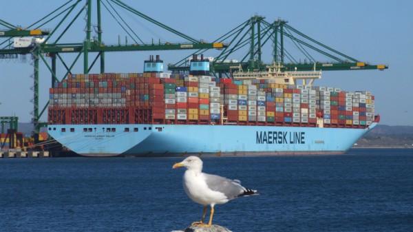 Maersk continua a sofrer com o aumento do bunker