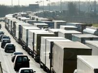 Aviso de greve no transporte rodoviário em França