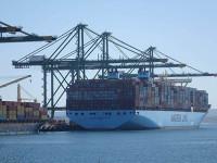 Terminal XXI recebe o primeiro Triple-E da Maersk