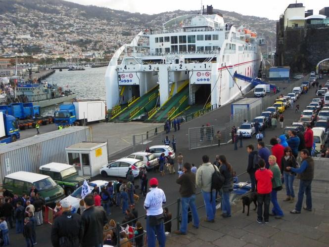 Naviera Armas - Madeira