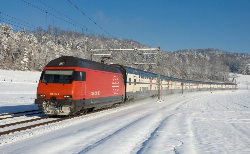 Suiça - Comboios