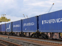 Transfennica estreia comboio-bloco Hendaye-Antuérpia