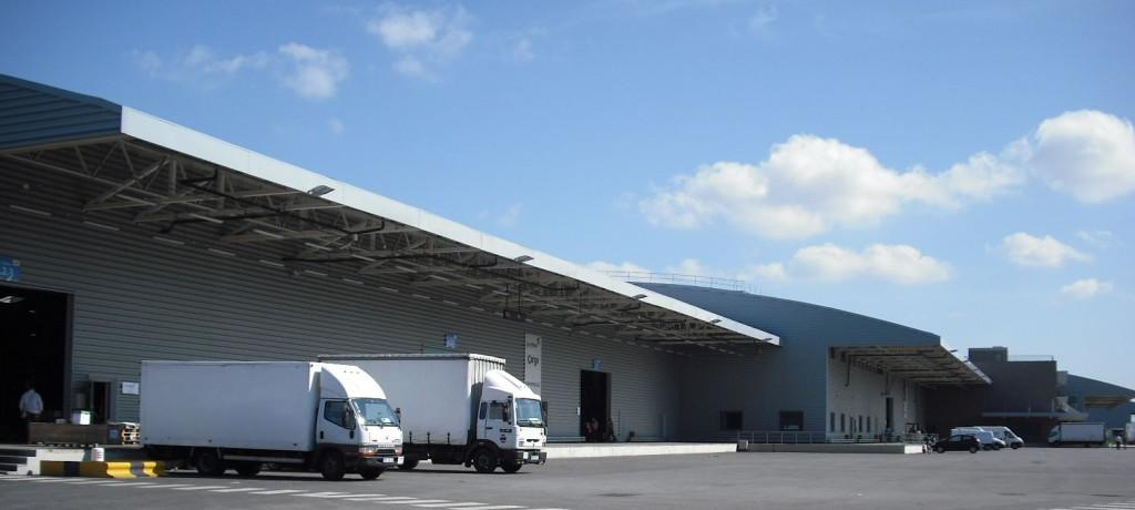 Centro de carga aeroporto de Lisboa