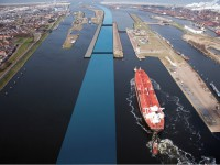 BEI financia nova eclusa do porto de Amsterdão