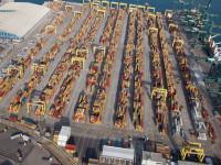 Portos espanhóis aceleram em Fevereiro