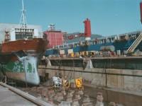 Encomendas de navios caíram 40% em 2015