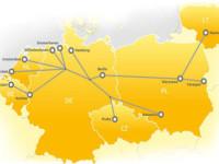 Corredor ferroviário Mar do Norte–Báltico inicia actividade